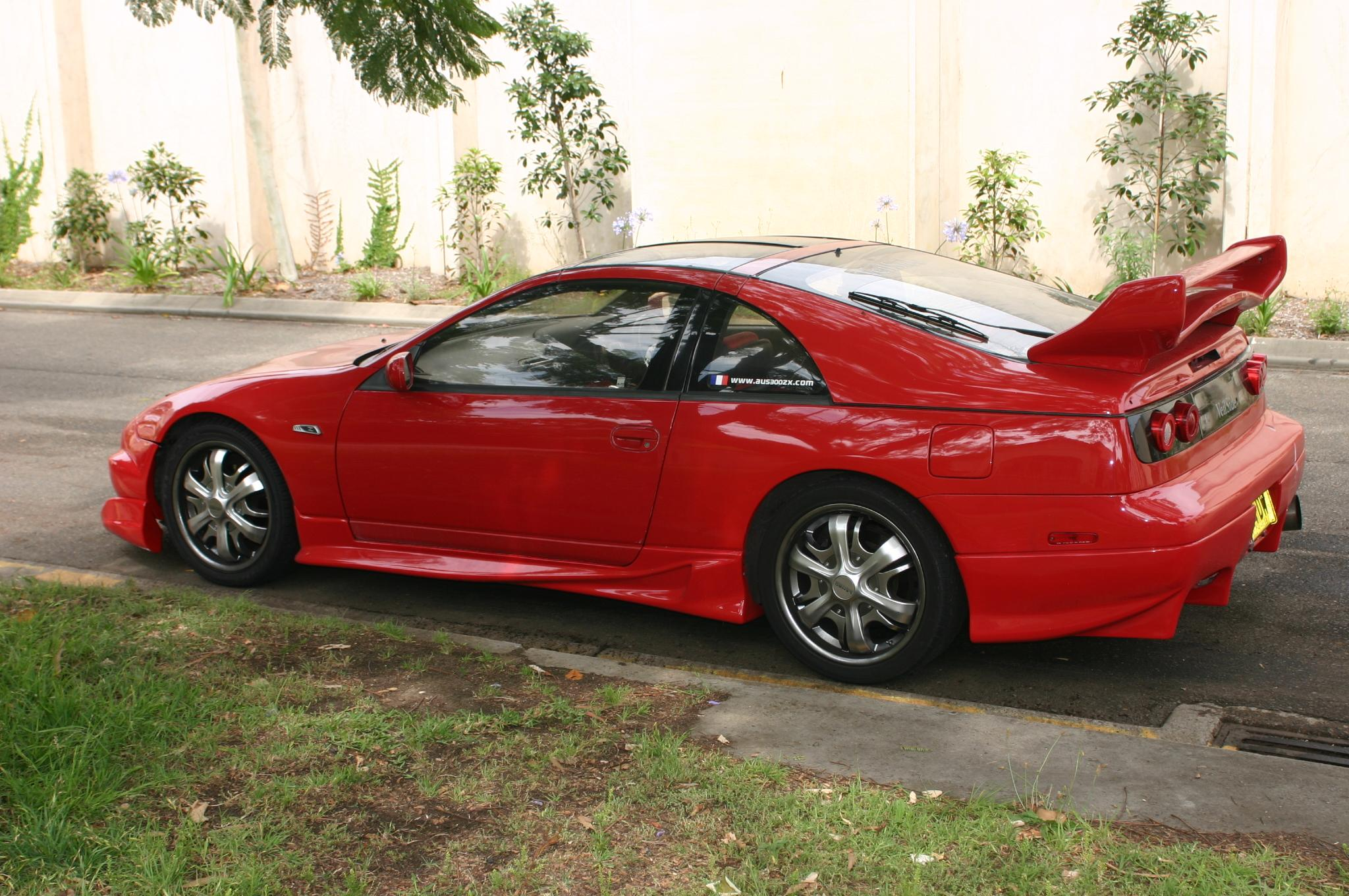 my Nissan 300ZX twin turbo (for sale actually, haha)